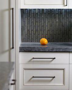 Tahoe Home - san francisco - Carolyn Rebuffel Designs tile cut, kitchen, countertop