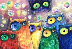 Rainbow Birds By Main