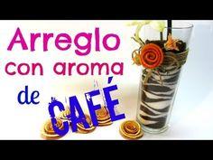 Tutorial: Arreglo con aroma de café. - YouTube