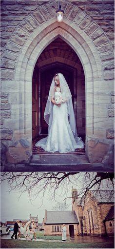 Pretty, Pink, Vintage, Wedding, Beamish Hall