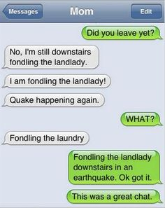 It's ridiculous how hard some of these autocorrects make me laugh.