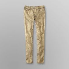 Junior's Coated Stretch Jeans | Dream Out Loud by Selena Gomez