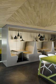 Inside Drees & Sommers Decentralized Stuttgart Offices #office: office space, office design, office interiors