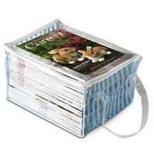 Magazine Keeper #HouseholdOrganization #OrganizationIdeas