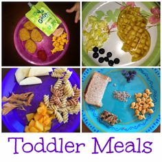 Breakfast and lunch/supper ideas!