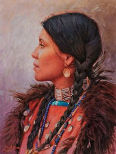 Daughter of the Osage and Sioux - David Yorke