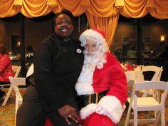 Santa and Iris she was a naugthy girl this year lol