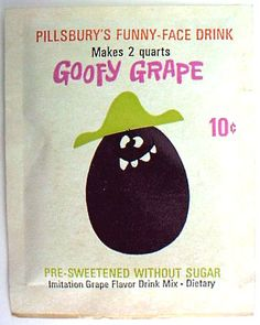 Funny Face drinks, the competitor to Kool-Aid