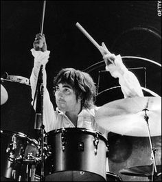 The late great Keith Moon of The Who