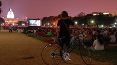 Screen on the Green- Washington, DC is a summer must!