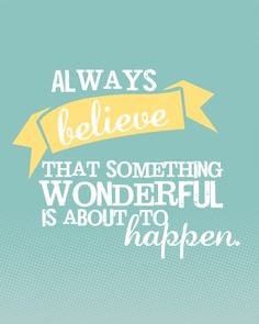 The power of positive thinking. Happy Friday everyone! #Quote