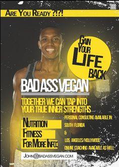 Meet The Incredible John Lewis! Raw Vegan Fitness Trainer john lewi