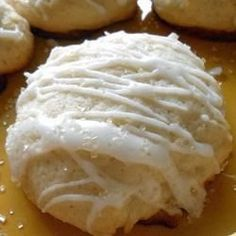 Lemon Pound Cake Cookies - I was trying to make lemon cookies, but ended up making something totally different and I was glad with the outcome