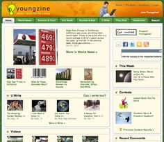 Great site for online articles for students - perfect to use in conjunction with mind (http://www.youngzine.org) - mapping and graphic organizer apps like Tools 4 Students, ReadNRespond or these - http://list.ly/list/1kO-best-mind-mapping-apps?feature=