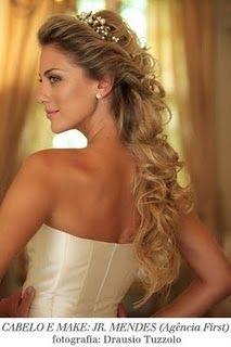 Penteados para noivas !