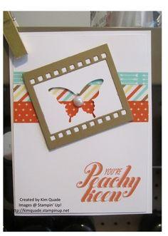 05/14/2014 Kim Quade: Peachy Keen Meets On Film Framelits