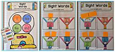 Teaching With Love and Laughter: Kindergarten Sight Words Interactive Notebooks