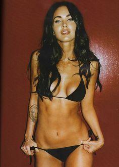 Megan en bikini