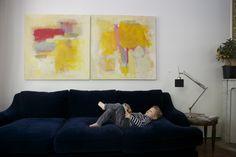 DIY abstract ary