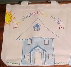 nap hous, theme book, literaci bag, bag activ