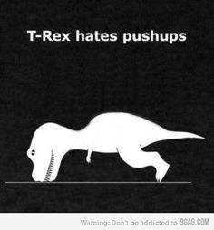LOL LOL LOL challenges, laugh, dinosaur, burpees, arm, fitness quotes, big little, thing, big head