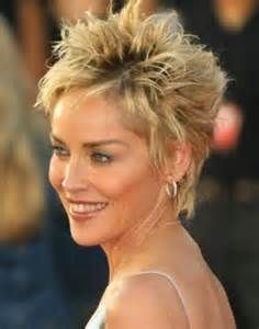 Short Hair Styles For Thin Hair - Bing Images short cut, sharon stone, short curly hairstyles, short haircuts, short hair styles, fine hair, short hairstyles, medium hairstyles, men's hairstyles