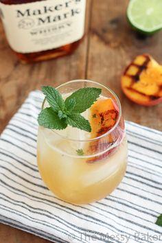 Grilled Peach Bourbon