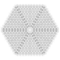 Hexagonal Flat Peyote