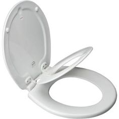 BEMIS NextStep Round Closed Front Toilet Seat in White-583SLOW 000 at The Home Depot