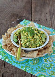 Sweet Corn Guacamole
