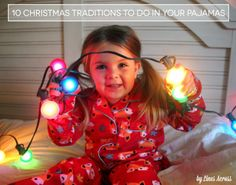 10 Christmas Traditions to Celebrate in Your Pajamas - #ThisIsStyle #shop #cbias