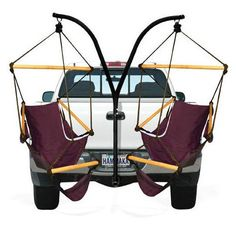 Trailer Hitch Camping Chairs | 32 Things You'll Totally Need When You Go Camping