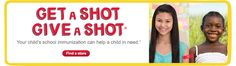 This year, when your child gets their back-to-school immunization at Walgreens, we'll help provide a lifesaving vaccine to a child in a developing country through the UN Foundation's Shot@Life campaign. help, children, walgreen, shot, medic