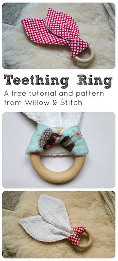 Free Teething Ring T