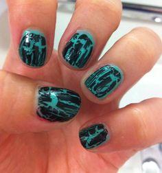 crackle nail polish