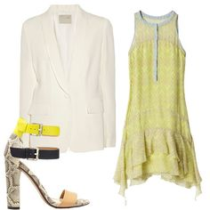 Spring's Must-Have Trend: The White Blazer #fashion #spring