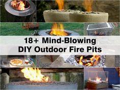 Amazing DIY Fire Pits