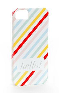 Hello! iPhone5 Case