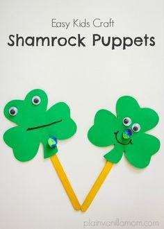 Shamrock Puppets