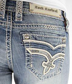 'Rock Revival Taylor Slim Boot Stretch Jean' #buckle #fashion www.buckle.com