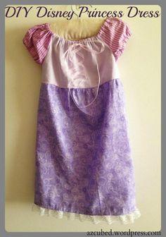 DIY Disney Princess Dress