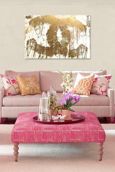 Pink sofa <3
