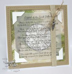 Stamps - Our Daily Bread DesignsOcean Treasures, Legend of the Sand Dollar