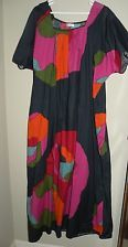Vintage MARIMEKKO Mod Dress Mumu Maxi M