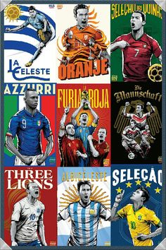 World Cup 2014 posters