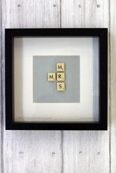 Brigitte Herrod - Scrabble MR & MRS Picture - JANUARY DELIVERY