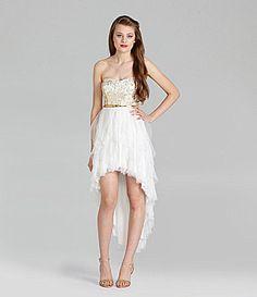 Teeze Me HiLow Dress #Dillards