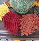 Autumn Leaves Dish/Wash Cloth or Hot Pad