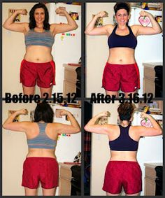 My 30 Day Shred Results- cycle 2