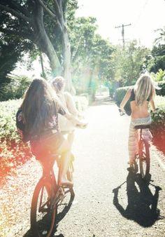 Summer bike riding <3